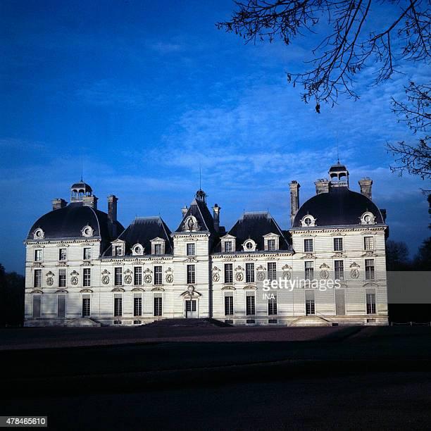 Castle of Cheverny in LoiretCher