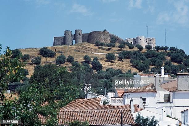 Castle of Evoramonte Alentejo Portugal 14th century