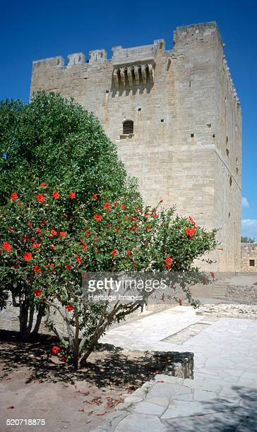 Castle of Kolossi near Limassol Cyprus 2001 Kolossi Castle was built by the Knights of the Order of St John in 1454 It stands on the site of an...