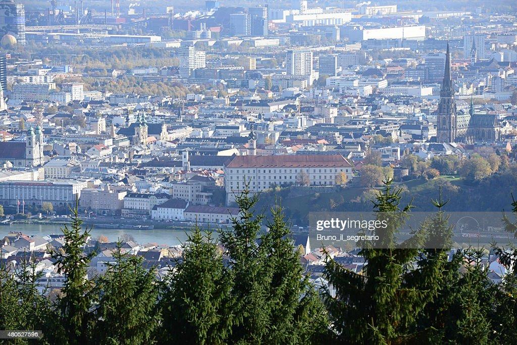 Castle of Linz, Upper Austria : Stock Photo