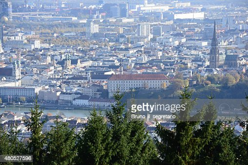Castle of Linz, Upper Austria : Stock Photo