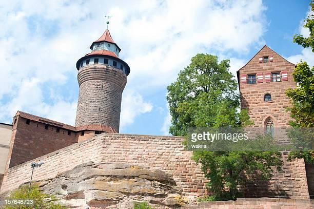 Schloss von Nürnberg-die Nürnberger Burg