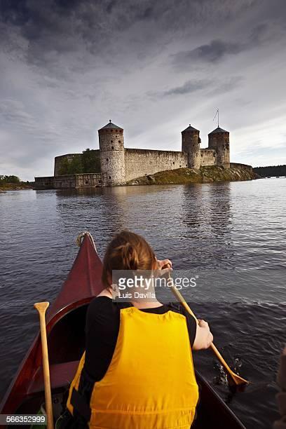 Castle Of Savonlinna Finland