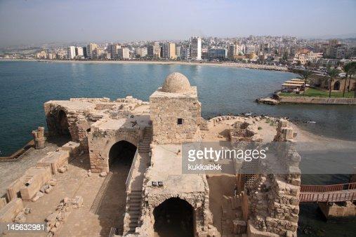 Castle of Sidon Sea