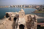 Castle of Sidon Sea