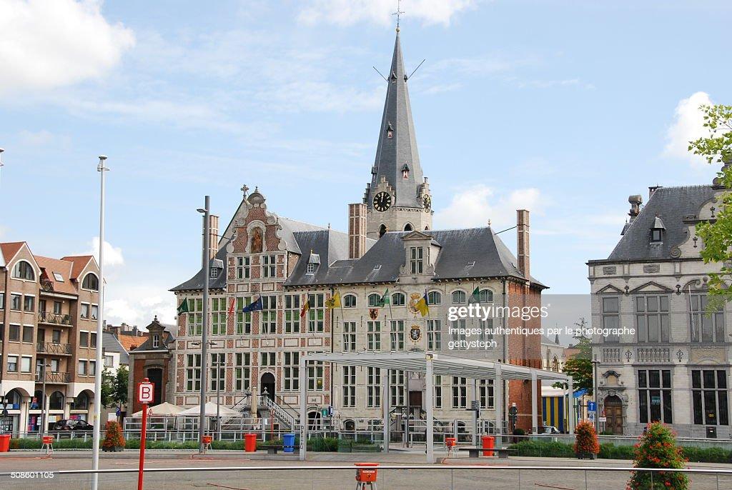 Castle of Sint-Niklaas : Foto de stock