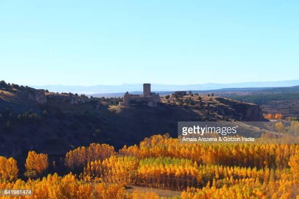 Castle of Ucero, Soria province, Spain