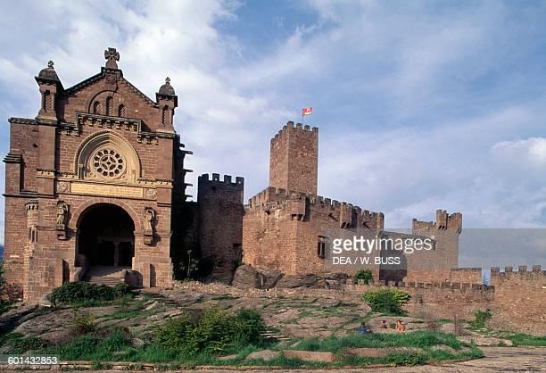 Castle of Xavier birthplace of St Francis Xavier Javier Navarra Spain 10th19th century