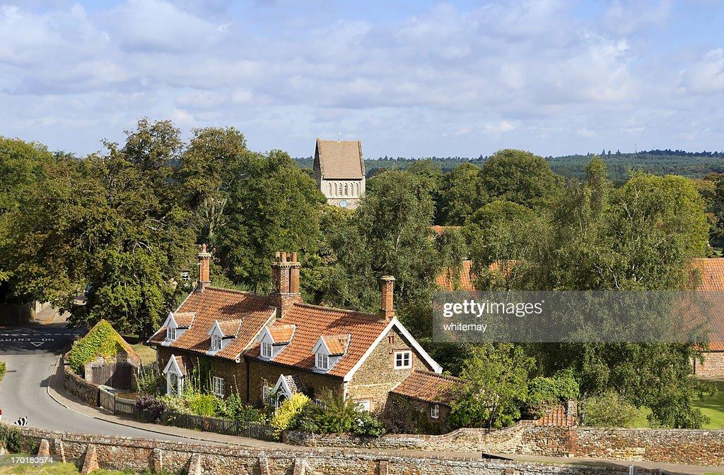 Castle Rising village, Norfolk