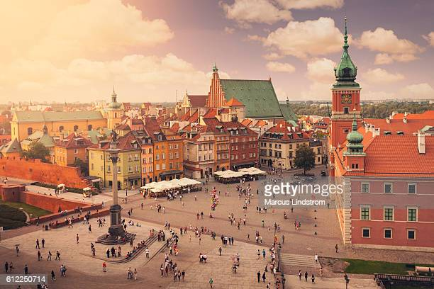 Castle square in Warsaw old town