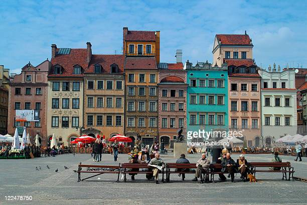 Castle Square, Warsaw, Poland.