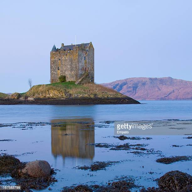 Castle Stalker, Loch Linnhe in the beautiful Highlands of Scotland.