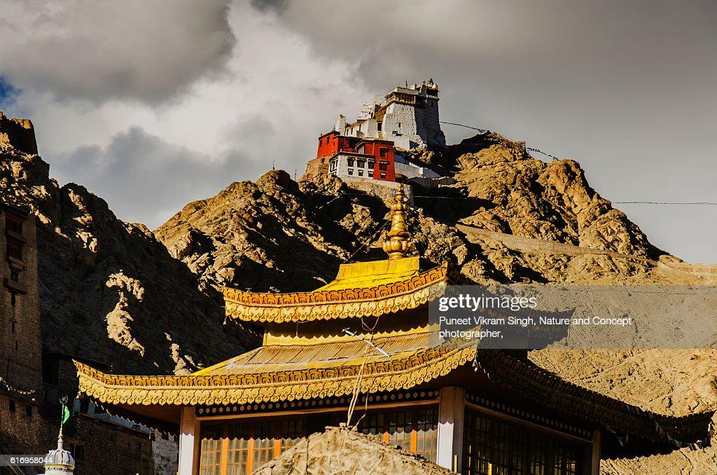 Castle Tsemo : Stock Photo
