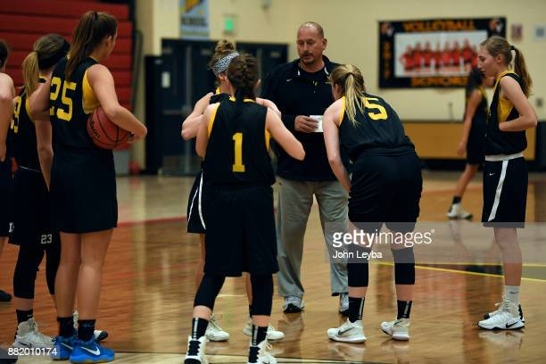 Castle View girls basketball head coach Matt Hema prepares for practice on November 28 2017 at Castle View high school