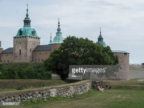 Castle with spires, Oland, Sweden