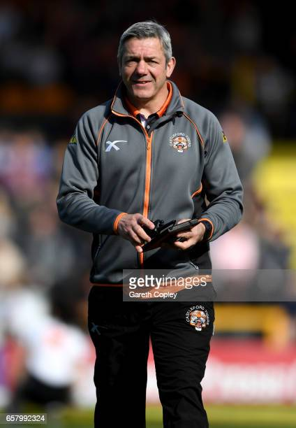 Castleford coach Daryl Powell during the Betfred Super League match between Castleford Tigers and Catalans Dragons at Wheldon Road on March 26 2017...
