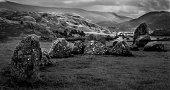 Castlerigg Stone Circle in the Lake District UK