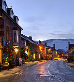 Castleton Christmas lights