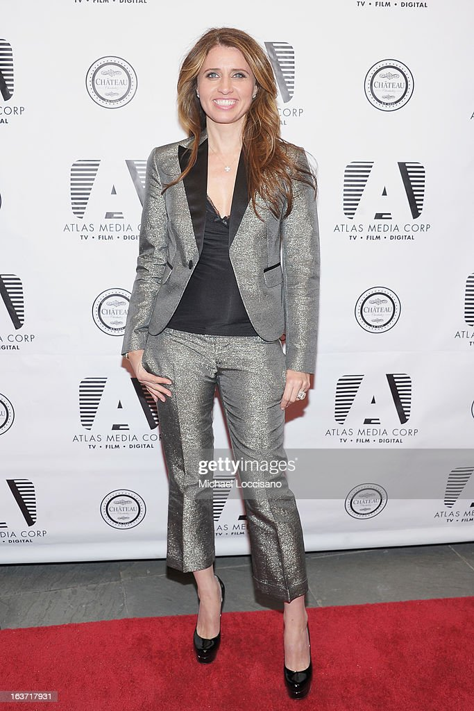 Castmember Anna Boiardi attends the 'Playing With Fire' premiere at Chateau Cherbuliez on March 14, 2013 in New York City.