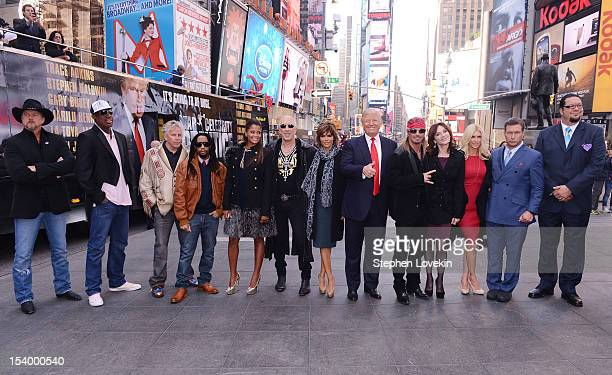 Castmembers Trace Adkins Dennis Rodman Garey Busey Lil Jon Claudia Jordan Dee Snider Lisa Renna Donald Trump Brett Michaels Marilu Henner Brande...