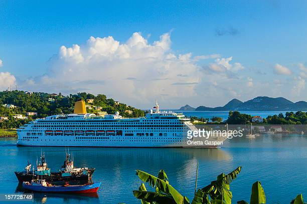 Castries Harbor, Saint Lucia