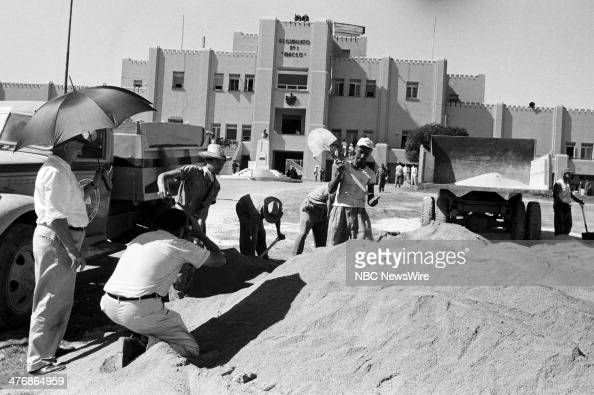 WIDE 60 'Castro's Year of Power' Episode 101 Pictured NBC camerman Tom Priestly at the Maceo Regimento No 1 building during a news documentary...