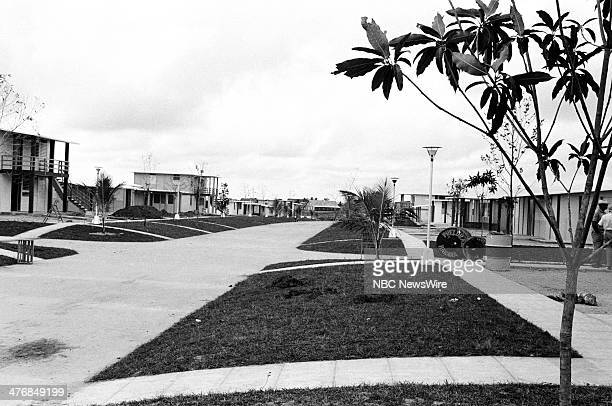 WIDE 60 'Castro's Year of Power' Episode 101 Pictured Plazas of Coop City at a cooperative tobacco farm in Pinar del Rio during a news documentary...