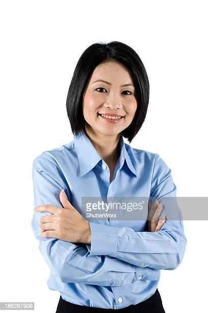 Casual Asian Businesswoman