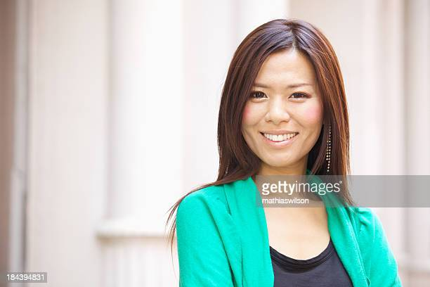 Casual Asian Female Portrait