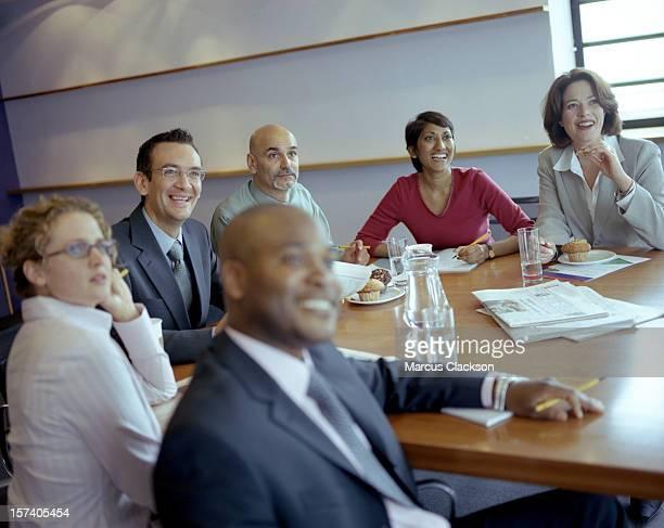 Casual Boardroom Meeting