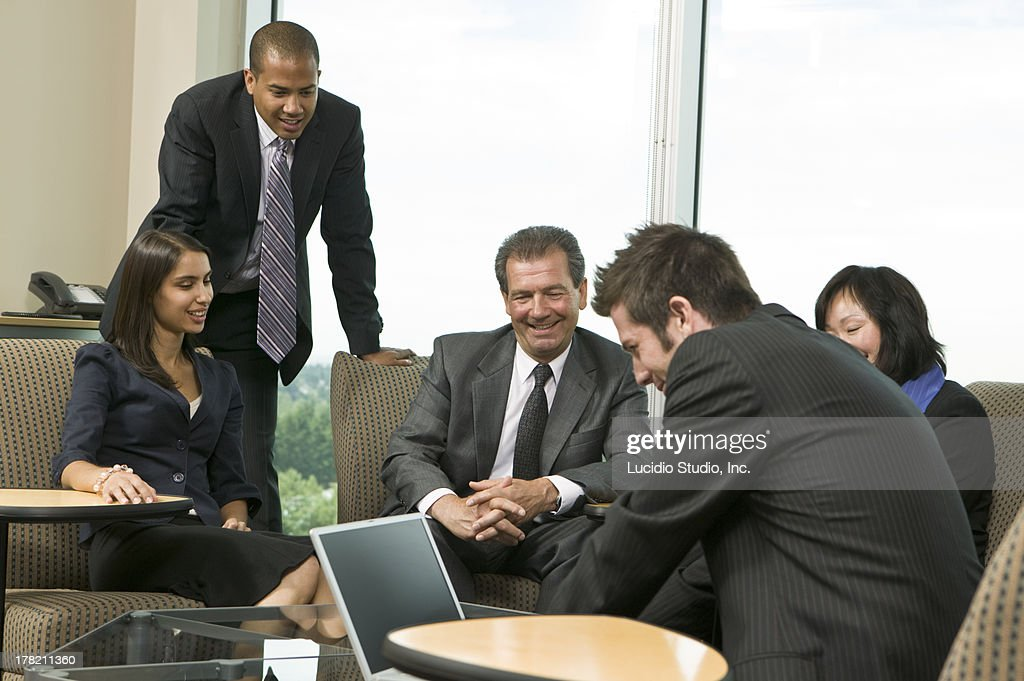 Casual business meeting : Stock Photo