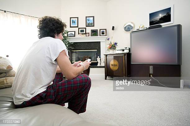 Casual Jogador de videojogo