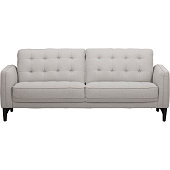 Casual Traditional Oyster Cream Sofa