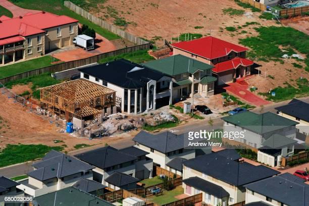 Casula, Western Sydney, Aerial Photography