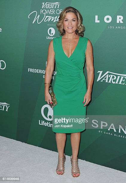 Cat Cora arrives at Variety's Power Of Women Luncheon 2016 at the Beverly Wilshire Four Seasons Hotel on October 14 2016 in Beverly Hills California