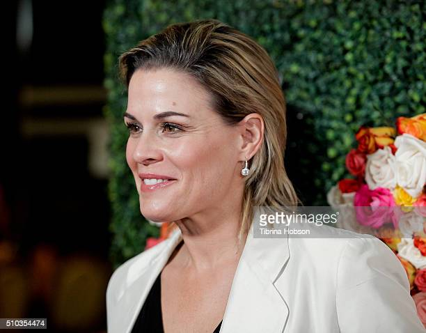 Cat Cora attends the Primary Wave 10th Annual PreGrammy Party at The London West Hollywood on February 14 2016 in West Hollywood California