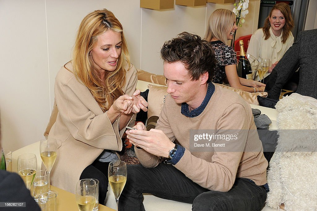 <a gi-track='captionPersonalityLinkClicked' href=/galleries/search?phrase=Cat+Deeley&family=editorial&specificpeople=202554 ng-click='$event.stopPropagation()'>Cat Deeley</a> (L) and <a gi-track='captionPersonalityLinkClicked' href=/galleries/search?phrase=Eddie+Redmayne&family=editorial&specificpeople=2554844 ng-click='$event.stopPropagation()'>Eddie Redmayne</a> attend the Moet & Chandon VIP Suite during day eight of the ATP World Finals at the O2 Arena on November 12, 2012 in London, England.