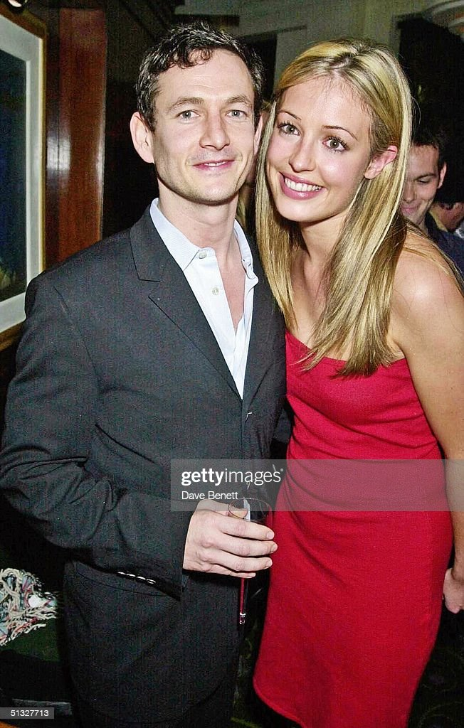 Cat Deeley and her boyfriend attend the Old Vic Charity Gala at The Old Vic on November 19, 2001 in London.