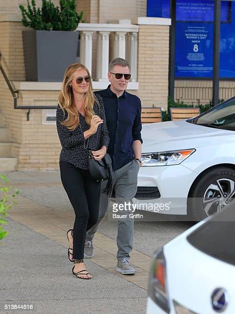 Cat Deeley and Patrick Kielty are seen on March 04 2016 in Los Angeles California