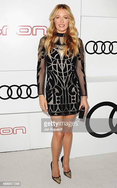 Cat Deeley arrives at Audi Celebrates Emmys Week 2015 at Cecconi's on September 17 2015 in West Hollywood California