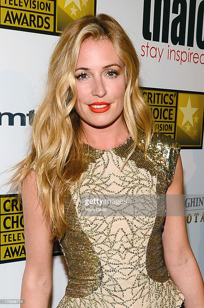 Cat Deeley arrives at Broadcast Television Journalists Association's third annual Critics' Choice Television Awards at The Beverly Hilton Hotel on June 10, 2013 in Los Angeles, California.