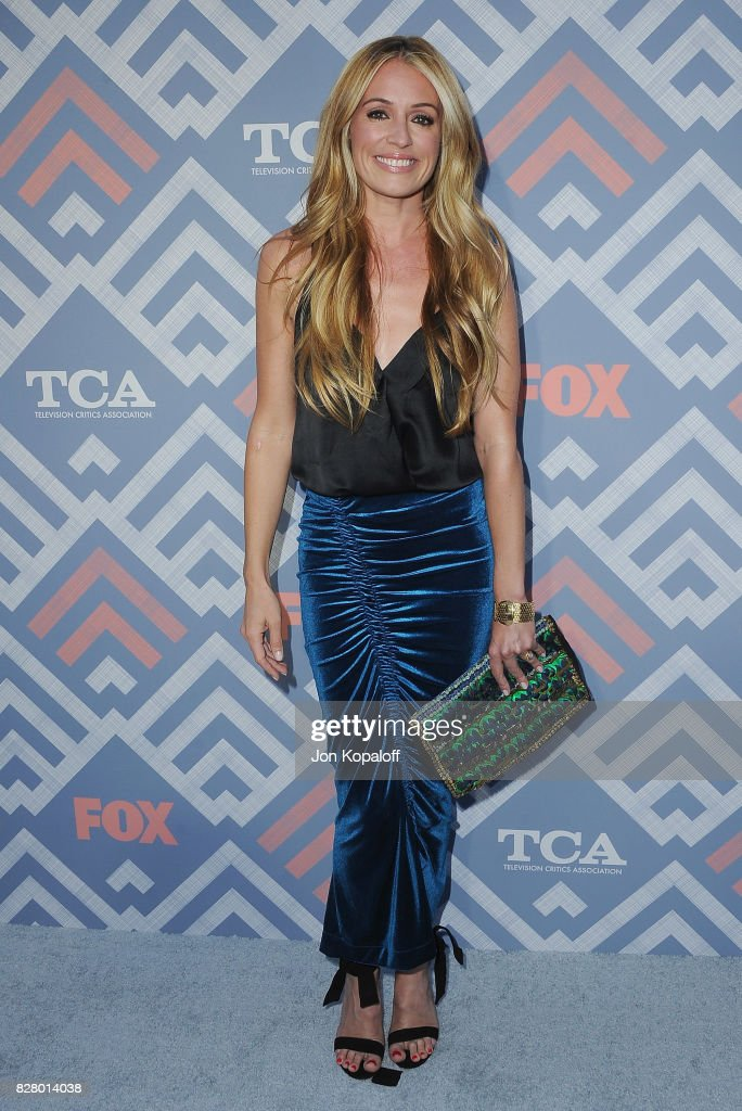 Cat Deeley arrives at the 2017 Fox Summer TCA Tour at the Soho House on August 8, 2017 in West Hollywood, California.