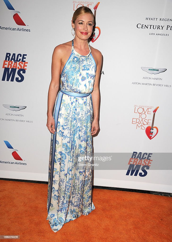 Cat Deeley arrives at the 20th Annual Race To Erase MS Gala 'Love To Erase MS' at the Hyatt Regency Century Plaza on May 3, 2013 in Century City, California.