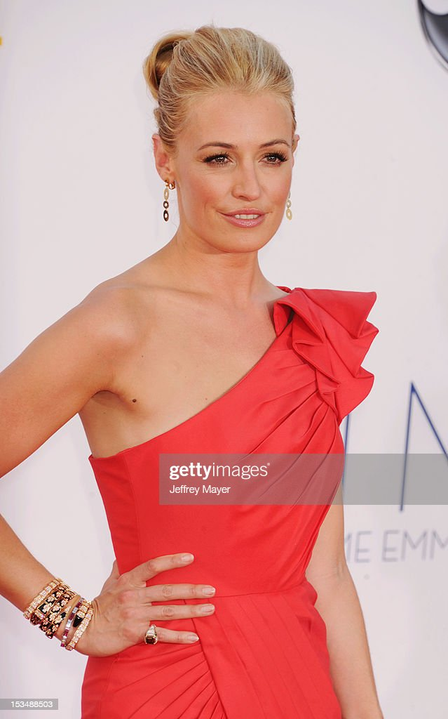 Cat Deeley arrives at the 64th Primetime Emmy Awards at Nokia Theatre L.A. Live on September 23, 2012 in Los Angeles, California.