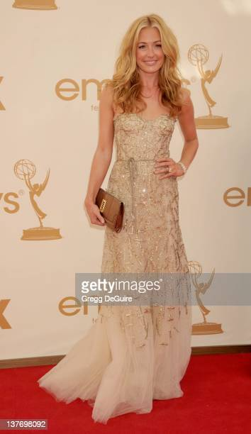 Cat Deeley arrives at the Academy of Television Arts Sciences 63rd Primetime Emmy Awards at Nokia Theatre LA Live on September 18 2011 in Los Angeles...