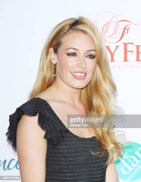 Cat Deeley arrives at The Dizzy Feet Foundation's 4th Annual Celebration of Dance Gala held at Dorothy Chandler Pavilion on July 19 2014 in Los...