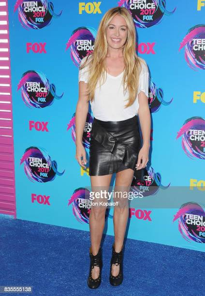 Cat Deeley arrives at the Teen Choice Awards 2017 at Galen Center on August 13 2017 in Los Angeles California