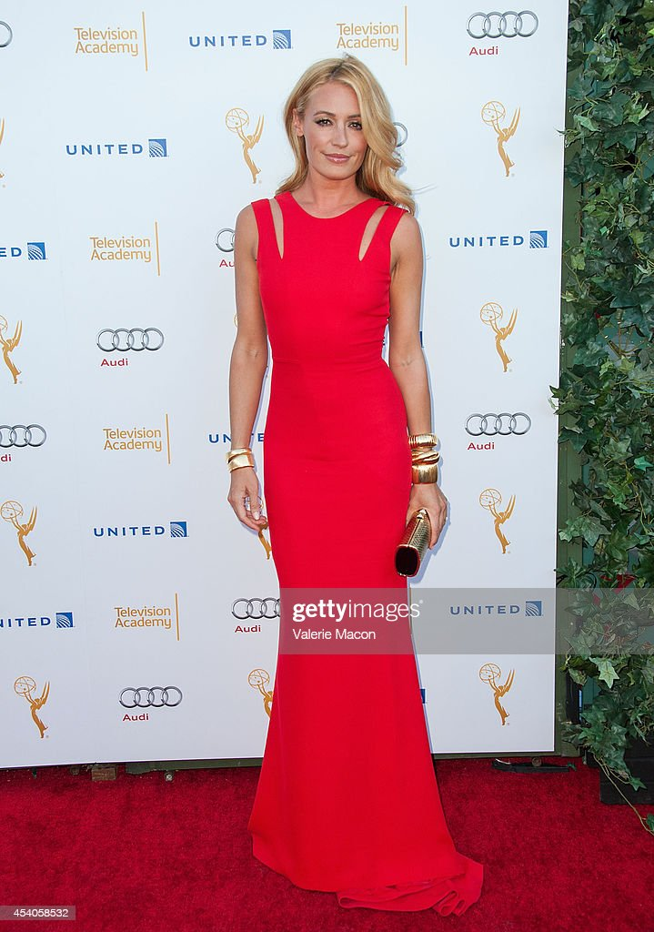 Cat Deeley arrives at the Television Academy's 66th Annual Emmy Awards Performers Nominee Reception at Spectra by Wolfgang Puck at the Pacific Design Center on August 23, 2014 in West Hollywood, California.