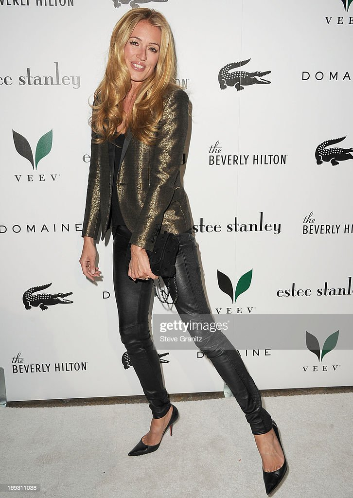 Cat Deeley arrives at the The Beverly Hilton Unveils Redesigned Aqua Star Pool By Estee Stanley at The Beverly Hilton Hotel on May 22, 2013 in Beverly Hills, California.