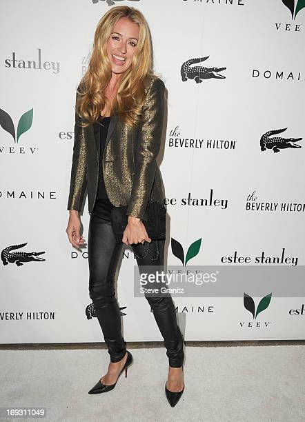Cat Deeley arrives at the The Beverly Hilton Unveils Redesigned Aqua Star Pool By Estee Stanley at The Beverly Hilton Hotel on May 22 2013 in Beverly...